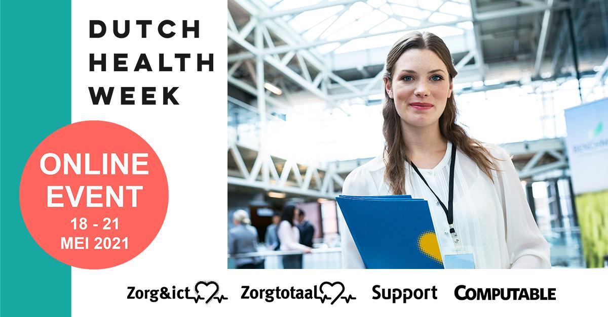 Dutch Health Week 17 t/m 21 mei 2021 - Jaarbeurs, Utrecht